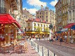 Rue De Soleil - Paris Limited Edition Print - Sam Park