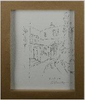 Antibes, With Huge Remarque on Verso 2002 Embellished Limited Edition Print by Sam Park - 3