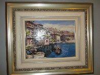 Bellagio, Varenna, Portofino, And Venezia (Treasures of Italy Suite of 4) AP 2000 Limited Edition Print by Sam Park - 2