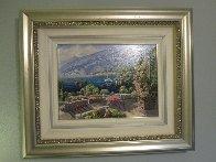Bellagio, Varenna, Portofino, And Venezia (Treasures of Italy Suite of 4) AP 2000 Limited Edition Print by Sam Park - 3