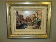 Bellagio, Varenna, Portofino, And Venezia (Treasures of Italy Suite of 4) AP 2000 Limited Edition Print by Sam Park - 4