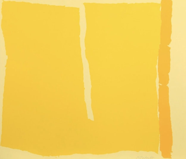 Phillips Yellow 1980 Limited Edition Print by Ray Parker