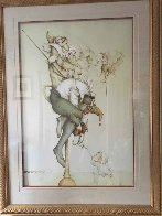 Petrouchka 1987 Limited Edition Print by Michael Parkes - 1