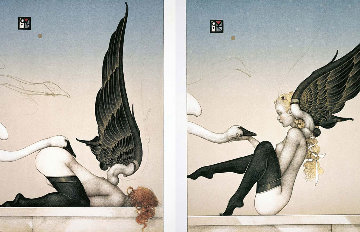 All Most Fallen Angels 1996 Limited Edition Print by Michael Parkes