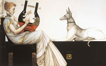 Anubis 1999 Limited Edition Print by Michael Parkes