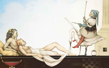 Court Painter 2002 Limited Edition Print by Michael Parkes