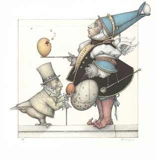 Egg Collector 2007 Limited Edition Print - Michael Parkes