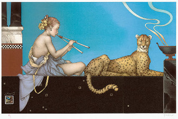 Dusk 1998 Limited Edition Print by Michael Parkes