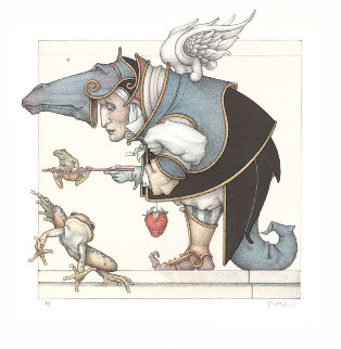 Frog Collector 2007 Limited Edition Print - Michael Parkes