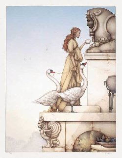 Riddle 1999 Limited Edition Print - Michael Parkes