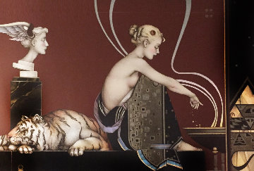 Sacred Fire 2 Limited Edition Print - Michael Parkes