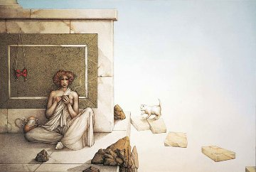 Mask 1996 Limited Edition Print by Michael Parkes