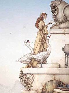 Riddle 1999 Limited Edition Print by Michael Parkes