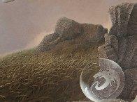 Last Dragon 1981 31x36 Original Painting by Michael Parkes - 4