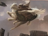 Last Dragon 1981 31x36 Original Painting by Michael Parkes - 3