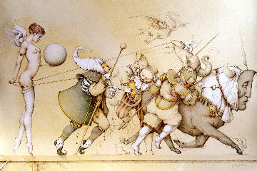 Returning the Sphere 1991 Limited Edition Print - Michael Parkes