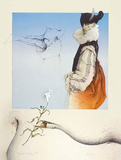 Swan King AP 1982 Limited Edition Print - Michael Parkes