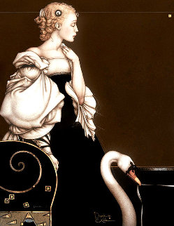 Beatrice Alone Limited Edition Print - Michael Parkes