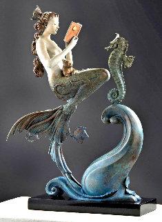 Mermaid Bronze Sculpture 2017 22 in Sculpture by Michael Parkes