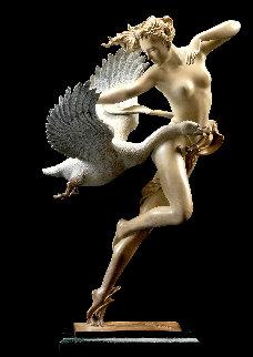 Night Flight Patina Sculpture AP 21 in Sculpture by Michael Parkes
