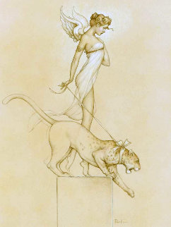Descending 2014 Limited Edition Print - Michael Parkes