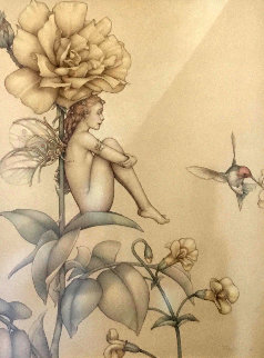 Shade of the Rose 2011 Limited Edition Print by Michael Parkes