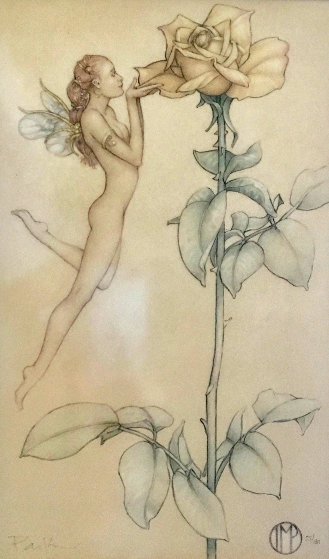 Rose 2011 Limited Edition Print by Michael Parkes