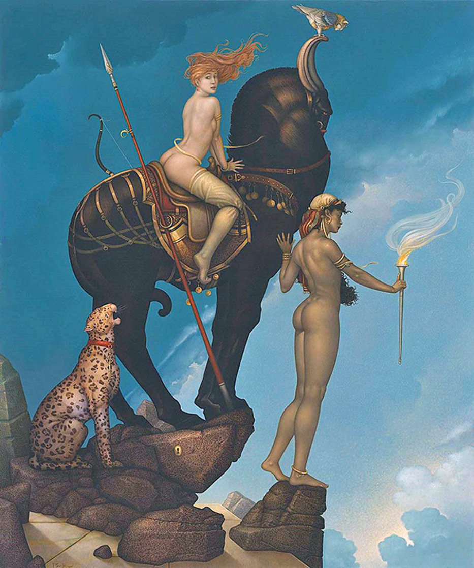 Return of Persephone Limited Edition Print by Michael Parkes