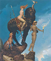 Return of Persephone Limited Edition Print by Michael Parkes - 0