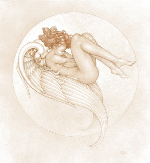 Angel Of August Limited Edition Print - Michael Parkes