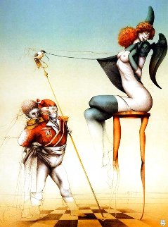 Little General 1986 Limited Edition Print - Michael Parkes