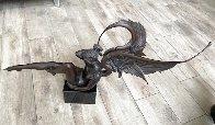 Angel of Dawn Bronze Sculpture 2009 29 in Sculpture by Michael Parkes - 2