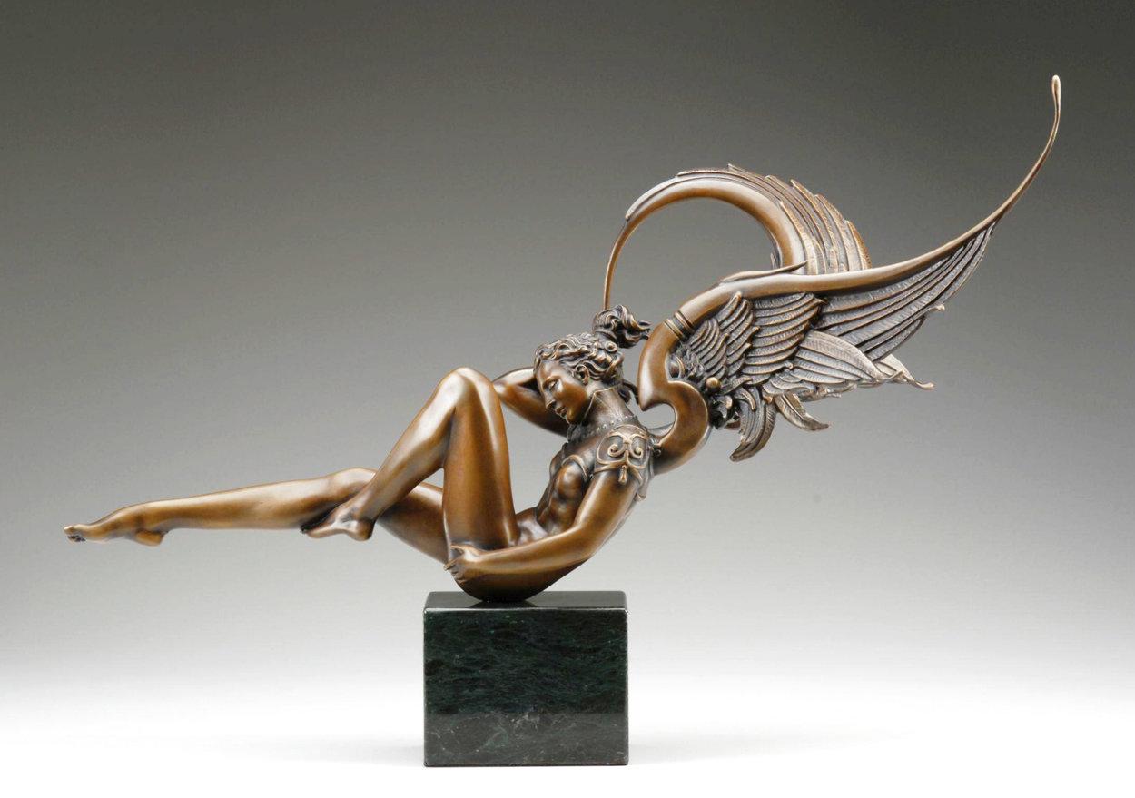 Angel of Dawn Bronze Sculpture 2009 29 in Sculpture by Michael Parkes