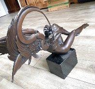 Angel of Dawn Bronze Sculpture 2009 29 in Sculpture by Michael Parkes - 5