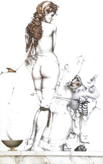 Music Master 1994 Limited Edition Print - Michael Parkes
