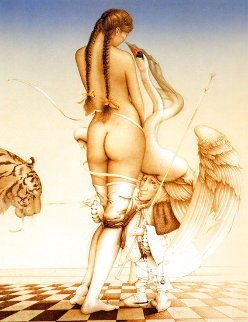 Puppetmaster 1984 Limited Edition Print - Michael Parkes
