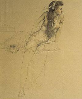 Danae 1992 Limited Edition Print - Michael Parkes
