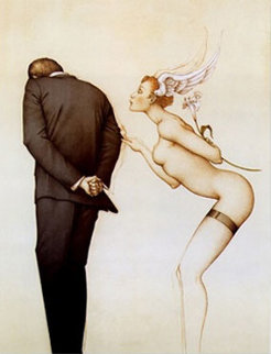 A Gift for the Disillusioned Man 1990 Limited Edition Print - Michael Parkes