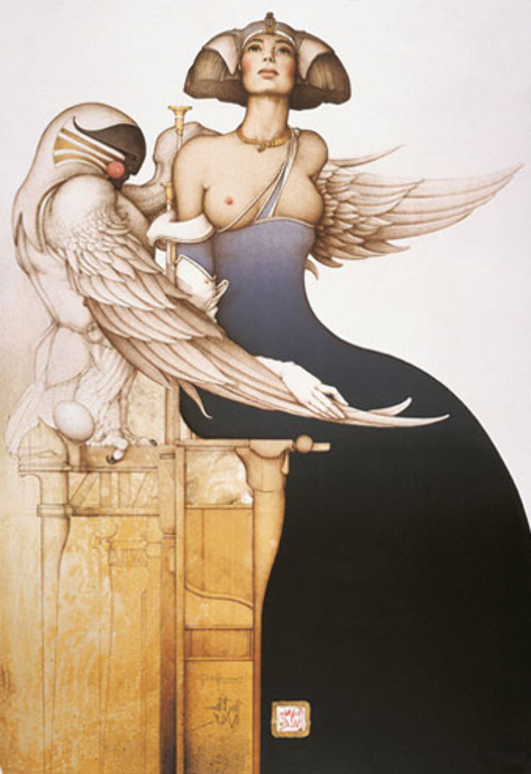Aditi 1990 Limited Edition Print by Michael Parkes
