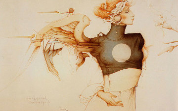 Angel Experiment 1988 Limited Edition Print by Michael Parkes