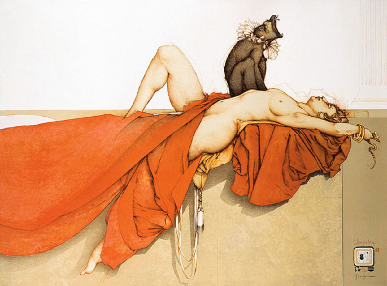 Cleopatra 1990 Limited Edition Print by Michael Parkes