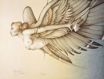 Beyond The Night 1989 Limited Edition Print by Michael Parkes