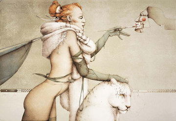 Creation Limited Edition Print by Michael Parkes