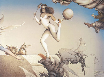 Last Circus Limited Edition Print by Michael Parkes