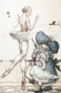 Ballet Mistress Limited Edition Print by Michael Parkes