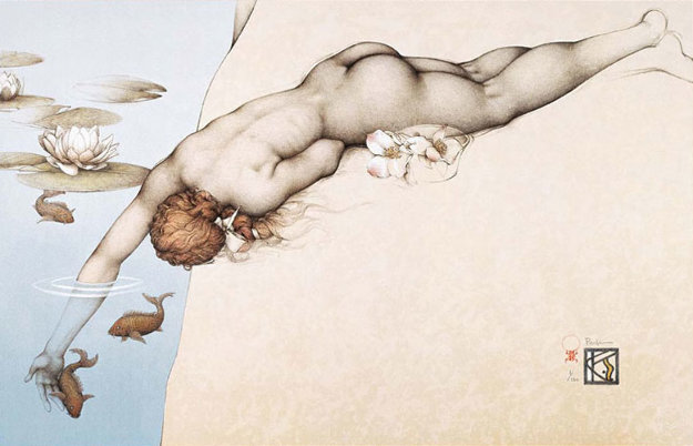 Summer Limited Edition Print by Michael Parkes