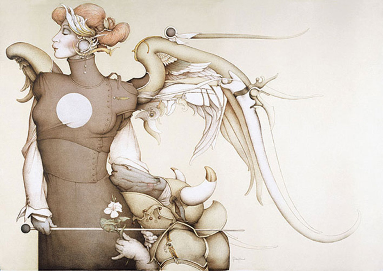 Surrender to the Light Limited Edition Print by Michael Parkes