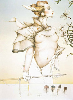 Stalking Limited Edition Print - Michael Parkes