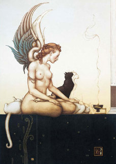Morning 1992 Limited Edition Print by Michael Parkes