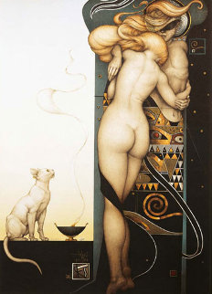 Night and Day (Night and Day) Limited Edition Print by Michael Parkes